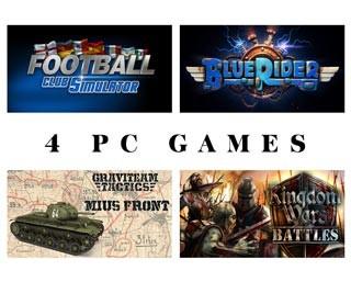 دانلود بازی های Kingdom Wars 2: Battles ، Graviteam Tactics: Mius-Front ، Football Club Simulator و Blue Rider