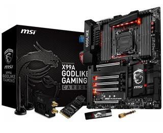 معرفی مادربورد X99A GODLIKE Gaming Carbon از MSI