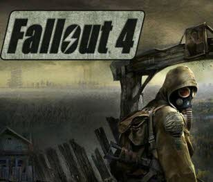 کاور و لیبل دیسک بازی Fallout 4