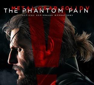 کاور و لیبل دیسک بازی Metal Gear Solid V: The Phantom Pain