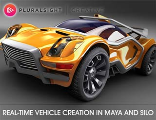 دانلود فیلم آموزش Real-Time Vehicle Creation in Maya and Silo