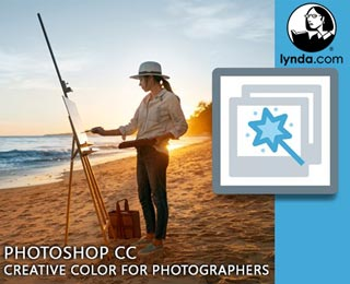 دانلود فیلم آموزش Photoshop CC: Creative Color for Photographers