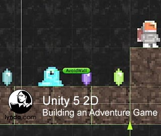دانلود فیلم آموزش Unity 5 2D: Building an Adventure Game