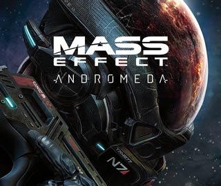 کاور و لیبل دیسک بازی Mass Effect: Andromeda