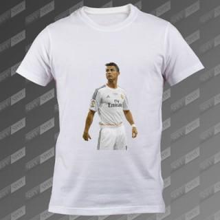 تی شرت مردانه سفید Cristiano Ronaldoo TS-00000002