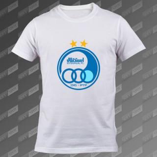 تی شرت مردانه سفید Esteghlal FC TS-00000007