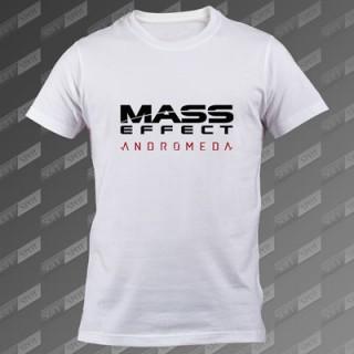 تیشرت سفید Mass Effect Andromeda TS-00000020