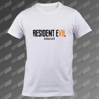 تیشرت سفید Resident Evil 7 TS-00000021