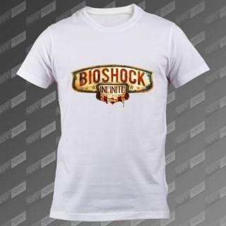 تیشرت سفید Bioshock Infinite TS-00000024