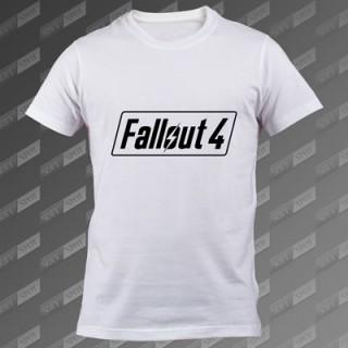 تیشرت سفید Fallout 4 TS-00000029