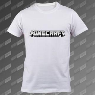 تیشرت سفید Minecraft TS-00000033