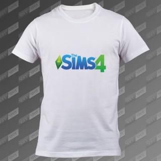 تیشرت سفید The Sims 4 TS-00000034