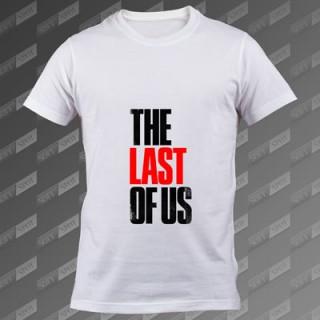 تیشرت سفید The Last of Us TS-00000039