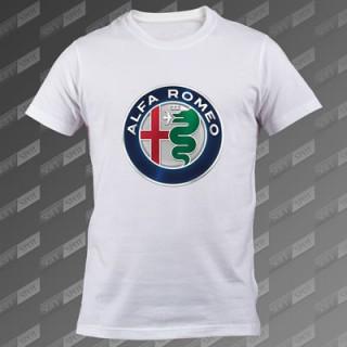 تیشرت سفید Alfa Romeo TS-00000040