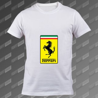 تیشرت سفید Ferrari TS-00000048