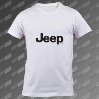 تیشرت سفید Jeep TS-00000053