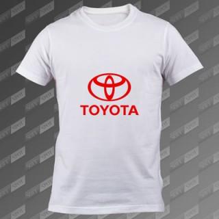 تیشرت سفید Toyota TS-00000069