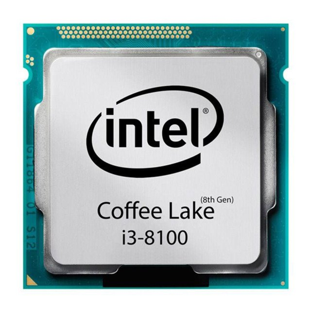 پردازنده مرکزی اینتل مدل i3-8100-Try