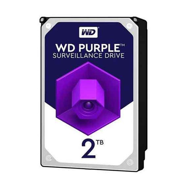 هارددیسک اینترنال وسترن دیجیتال مدل Purple WD20PURX 2TB(شرکتی)