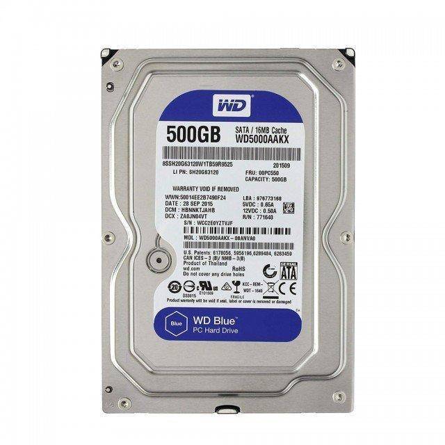 هارددیسک اینترنال وسترن دیجیتال مدل Blue WD5000AAKX 500GB