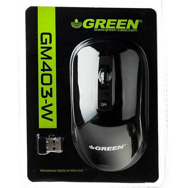 ماوس بی سیم گرین مدل GM403W