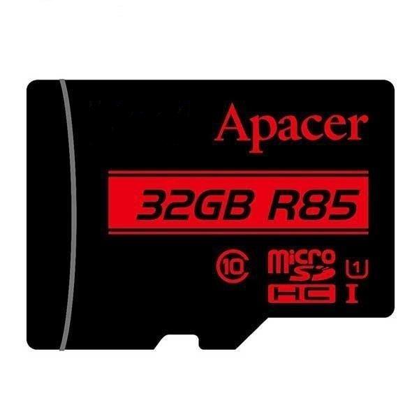 حافظه مموری 32 گیگ مدل  Apacer MicroSD 85MB/s U1