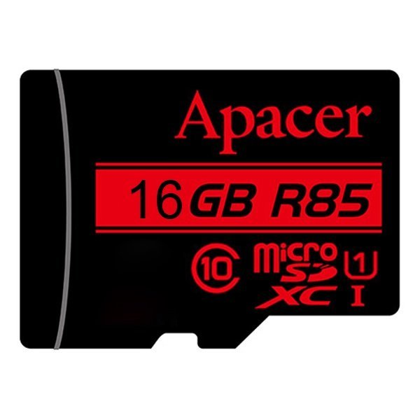 حافظه مموری 16 گیگ مدل Apacer MicroSD 85MB/s U1