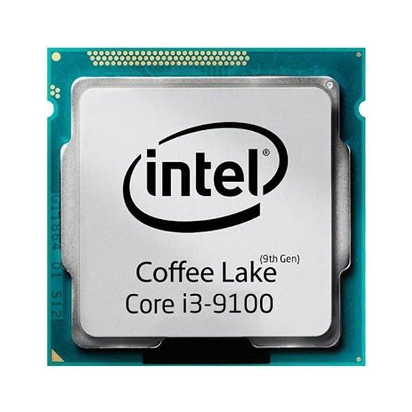 پردازنده مرکزی اینتل مدل Intel Core i3 9100 Tray