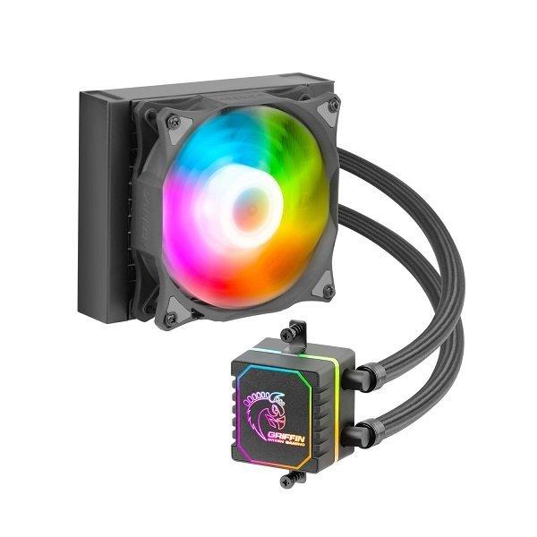 فن پردازنده Green مدل GLACIER 120 ARGB