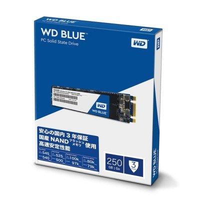 حافظه SSD وسترن دیجیتال مدل BLUE WDS250G1B0B M.2 250GB