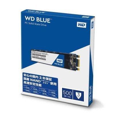 حافظه SSD وسترن دیجیتال مدل Blue WDS500G2B0B M.2 500GB