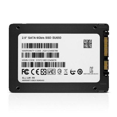 حافظه SSD ای دیتا مدل SU650 240GB
