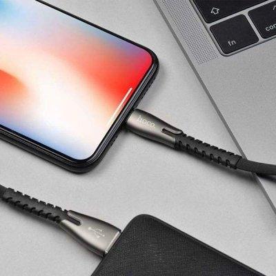 کابل تبدیل USB به لایتنینگ 1.2 متری هوکو U58-3A