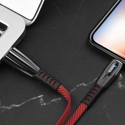 کابل تبدیل USB به لایتنینگ 1.2 متری هوکو U70