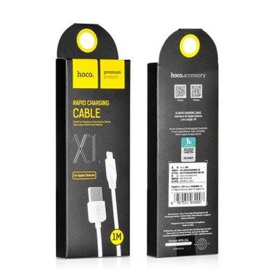 کابل تبدیل USB به لایتنینگ 1 متری هوکو X1 Rapid