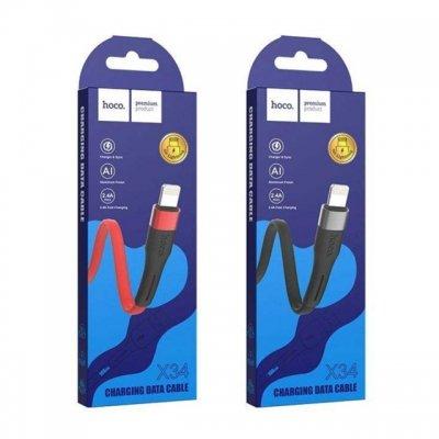 کابل تبدیل USB به لایتنینگ 1 متری هوکو X34