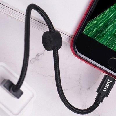 کابل تبدیل USB به لایتنینگ 25 سانتیمتر هوکو X35