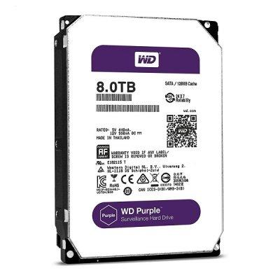 هارد دیسک وسترن دیجیتال مدل WD Purple WD60PURZ 8TB