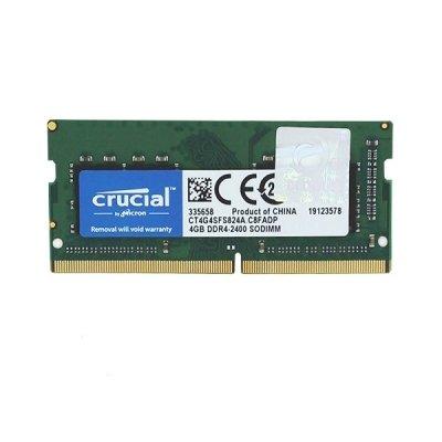 حافظه رم لپ تاپ کروشیال مدل Crucial 4GB DDR4 2666Mhz