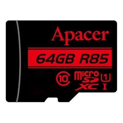 حافظه مموری 64 گیگ مدل Apacer MicroSD 85MB/s U1