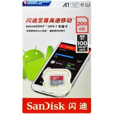 حافظه مموری 128 گیگ SanDisk مدل Ultra A1