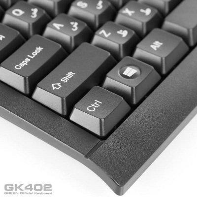 کیبورد با سیم مخصوص بازی گرین مدل GK403