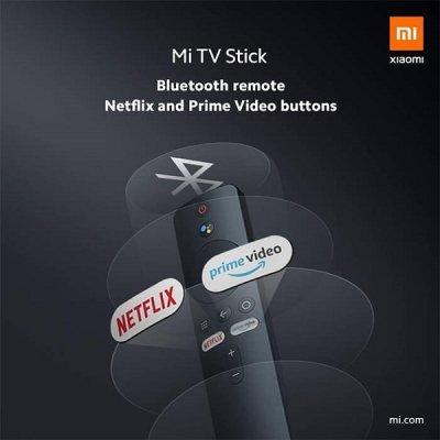 اندروید باکس و ریموت کنترل شیائومی مدل Mi TV Stick MDZ-24-AA
