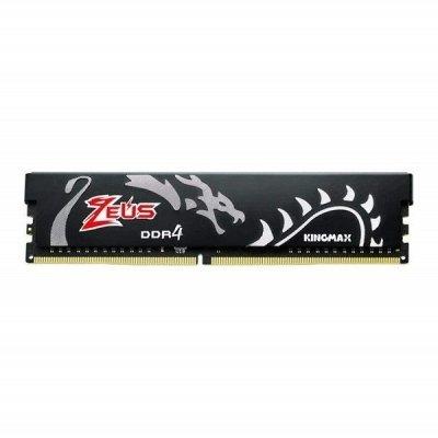 حافظه رم دسکتاپ کینگ مکس مدل Kingmax Zeus Dragon 8GB DDR4 3200Mhz