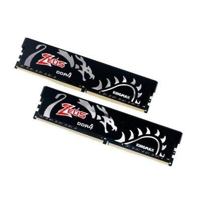 حافظه رم دسکتاپ کینگ مکس مدل Kingmax Zeus Dragon 16GB DDR4 3200Mhz