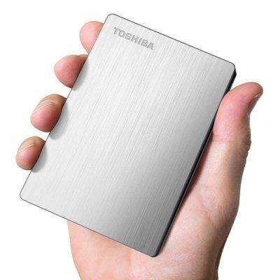 هارد اکسترنال 1ترابایت Toshiba مدل CANVIO SLIM