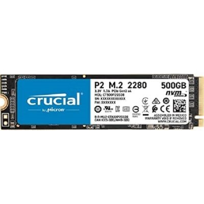 حافظه SSD کروشیال مدل Crucial P2 M.2 2280 500GB PCIe