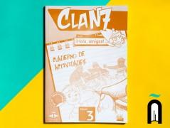 CLAN 7 CON ¡HOLA, AMIGOS! NIVEL 3 ALUMNO+ CD