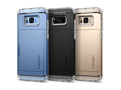 قاب محافظ اسپیگن سامسونگ Spigen Crystal Wallet Case For Samsung Galaxy S8 Plus