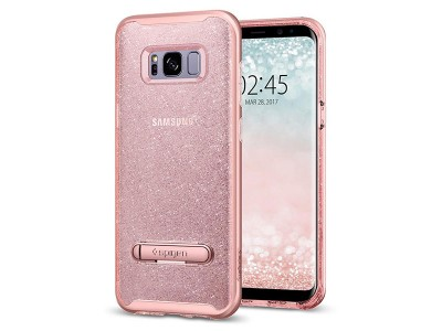 قاب محافظ اسپیگن سامسونگ Spigen Crystal Hybrid Glitter For Samsung Galaxy S8 Plus